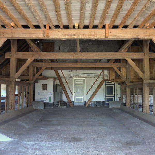 Het achterhuis na restauratie.