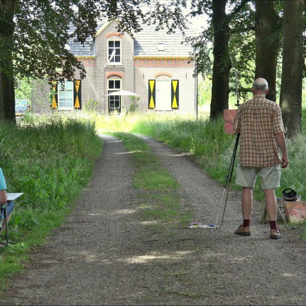 Frits en Aart leggen de Goedenberg vast.