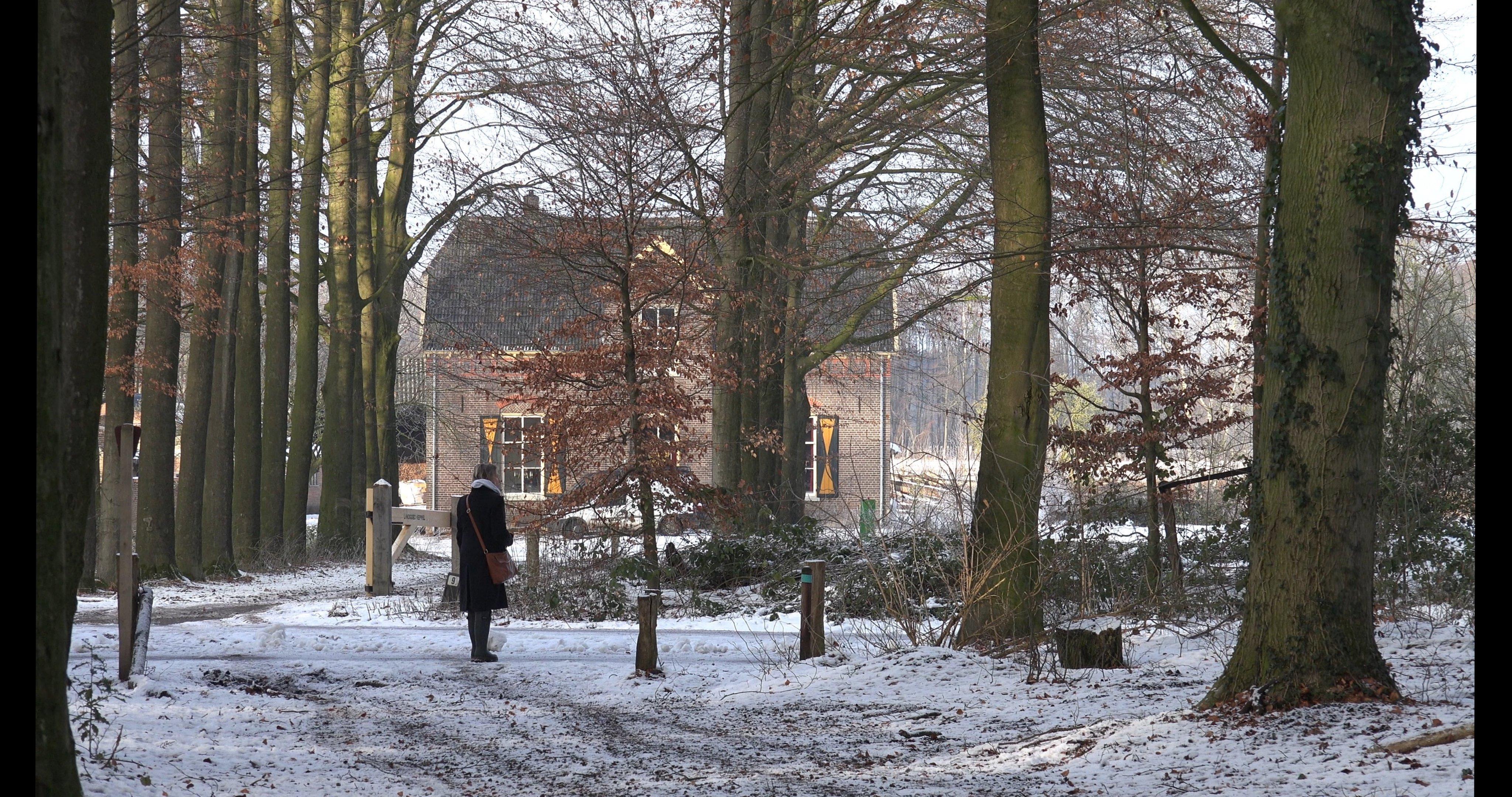 Goedenberg in de sneeuw