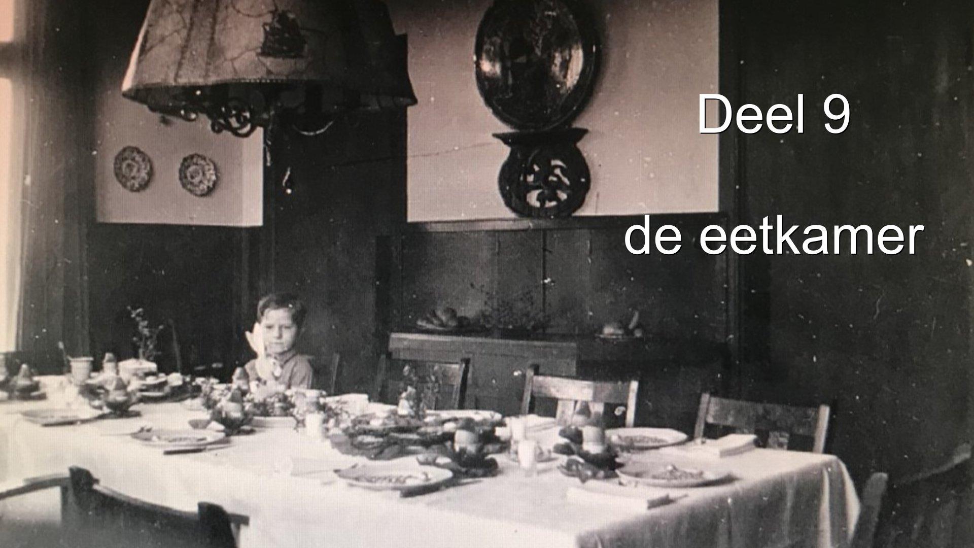 Deel 9 de eetkamer