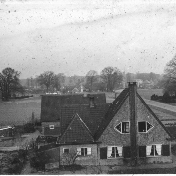Uitzicht vanuit het Zand 1939