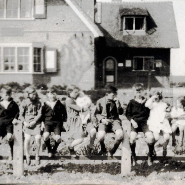 Het Zand kinderen Eerten 1930
