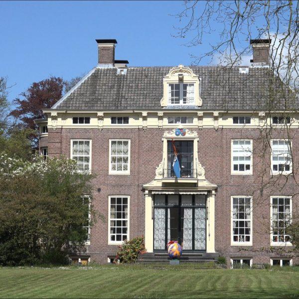 Buitenplaats Hilverbeek bij Hilversum.