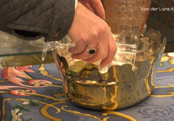 Antieke glazenkoeler en 's-Graveland