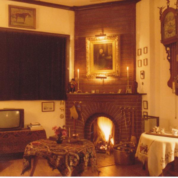 Het Zand huiskamer 1981