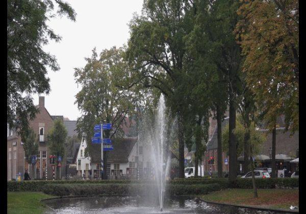 Het dorp Laren in het Gooi