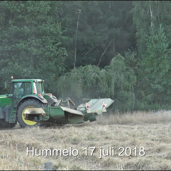 Maaien - hooien op 17-7-2018