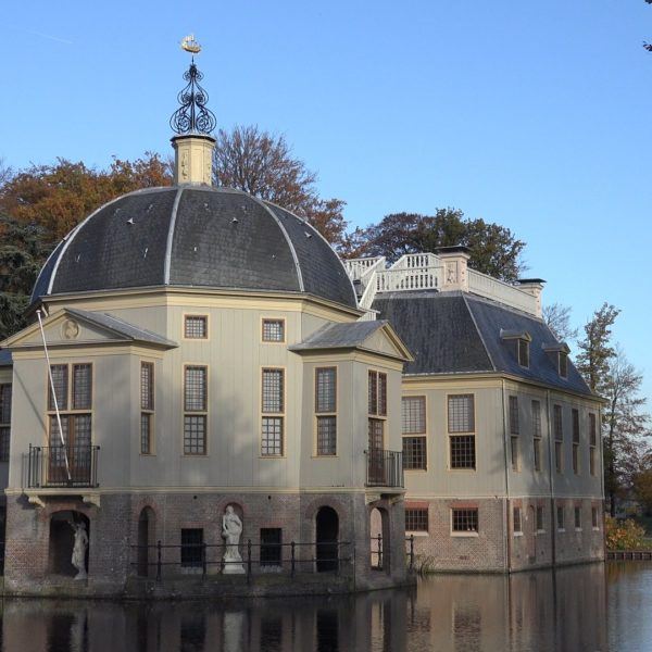 Kasteel Trompenburgh in 's-Graveland.