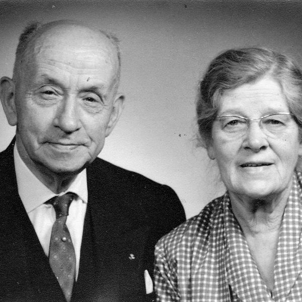 Westerbeek gouden bruiloft 1964
