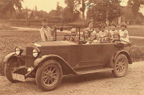 Gezin van Eerten 1924