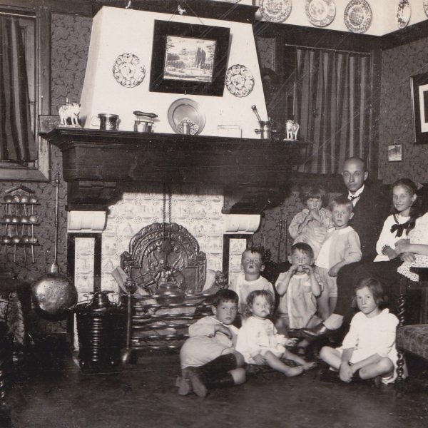 Gezin van Eerten jaren 20